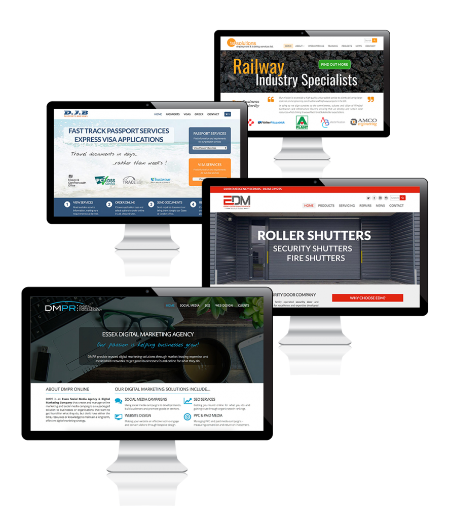 Web Design Agency Examples - Essex Web Design Company