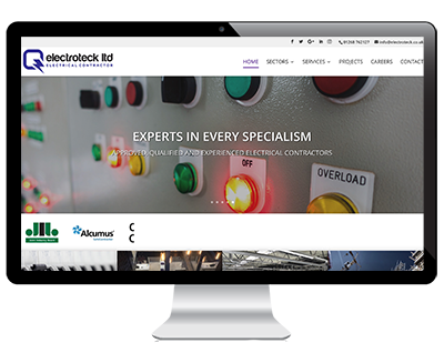 Web Design Example Electroteck