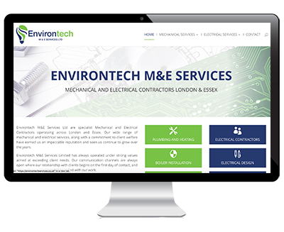 Web Design Example Environtech
