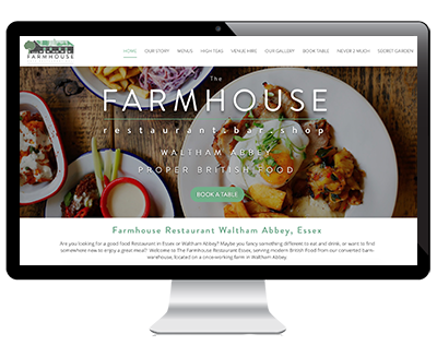 web design farmhouse